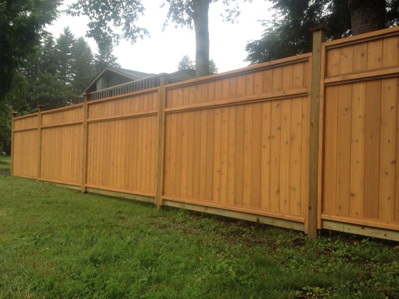 Rock Solid Cedar Fence Panels Big Red Cedar